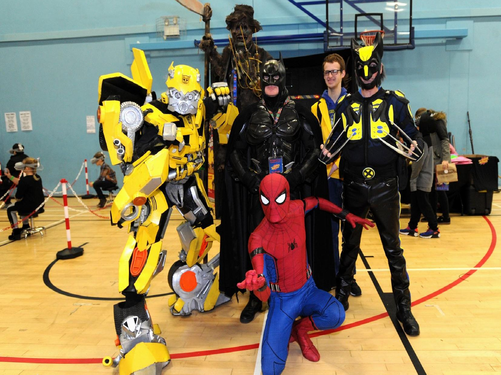 Comic Con at Leigh Sports Village