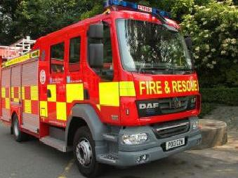 Firefighters attended a kitchen fire in Preston