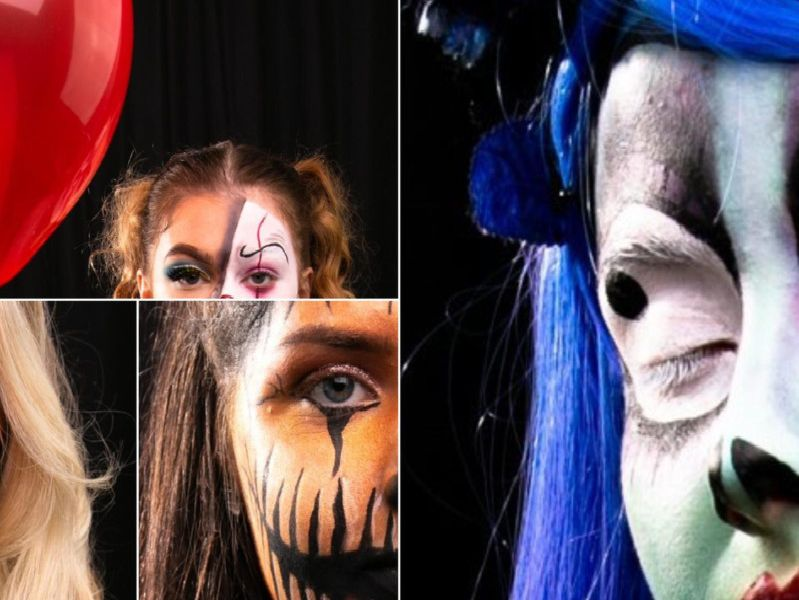 12 terrifying Halloween make up ideas from Runshaw College students