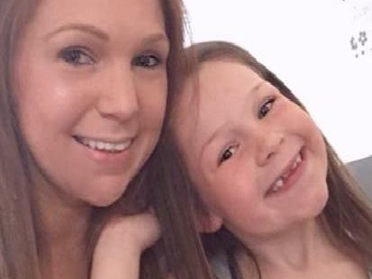 Becky Green with daughter Jessica.
