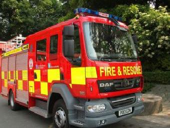 Firefighters were called to Preston train station after a rail traveller got stuck