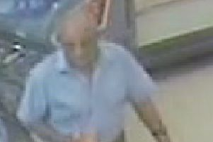 Man wanted by police after mobile phone theft from Booths supermarket in Longton