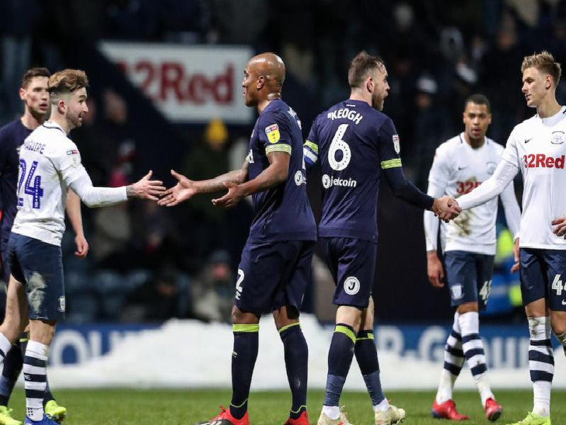 Preston and Derby shared the spoils at Deepdale on Friday night