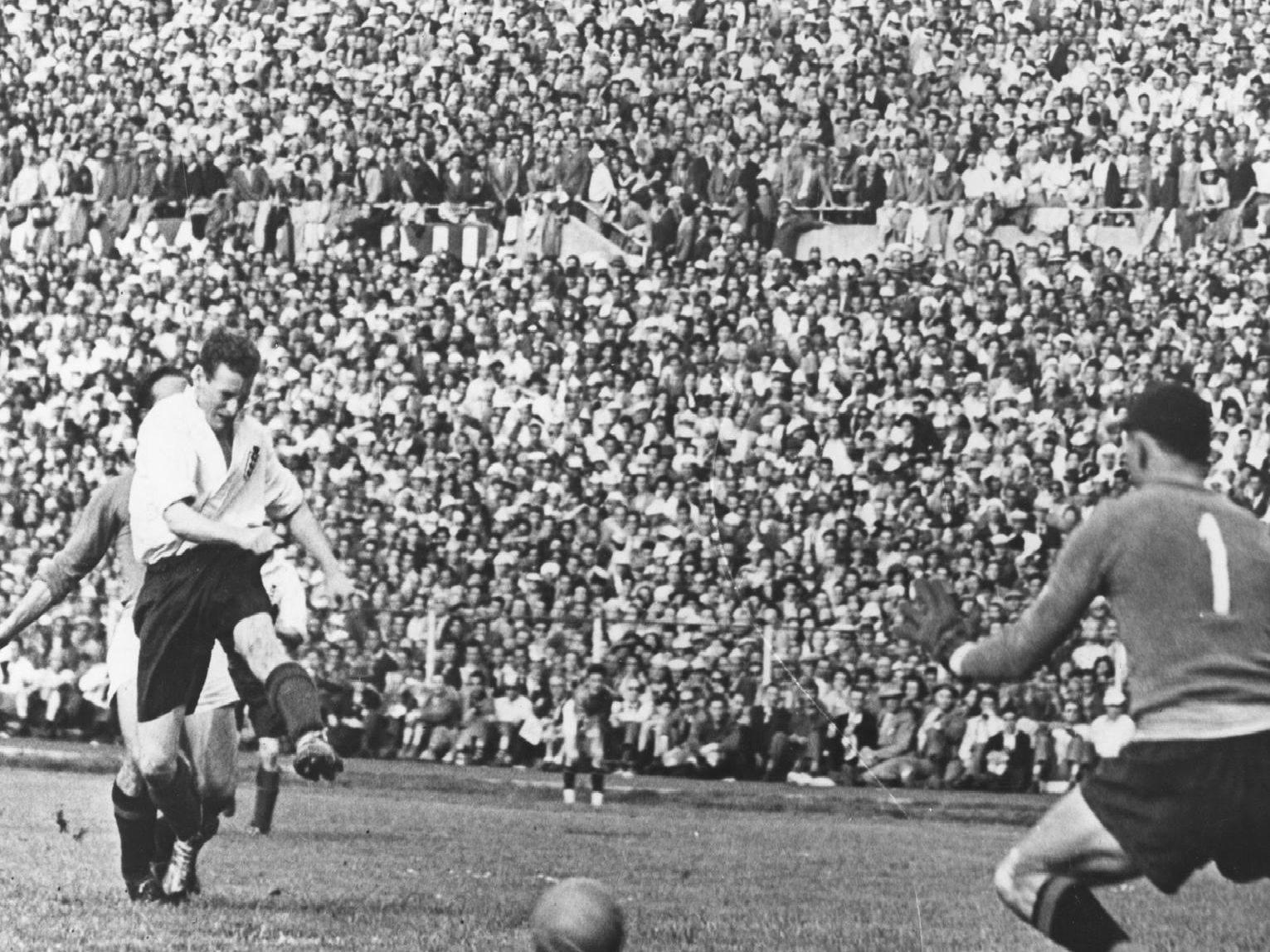 Finney scores against Italy in Turin