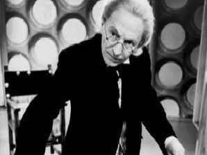 William Hartnell as the first Dr Who