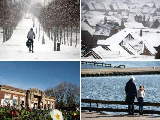 Temperatures have been unseasonably high for this time of the year, with most parts of the country basking in 16C warmth