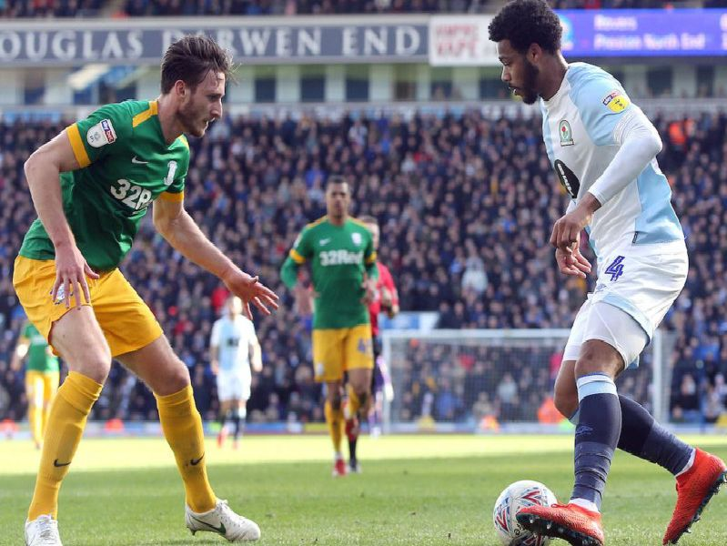 Ben Davies was the pick of the bunch for Preston at Blackburn