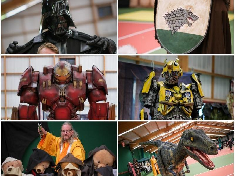 The stars came out for first ever South Ribble Comic Con