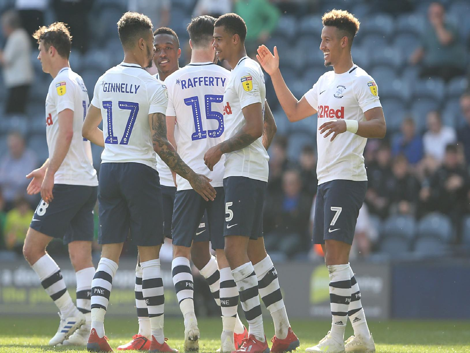 Preston ended a four-game losing run with an emphatic win over Ipswich. Here is how the players rated.