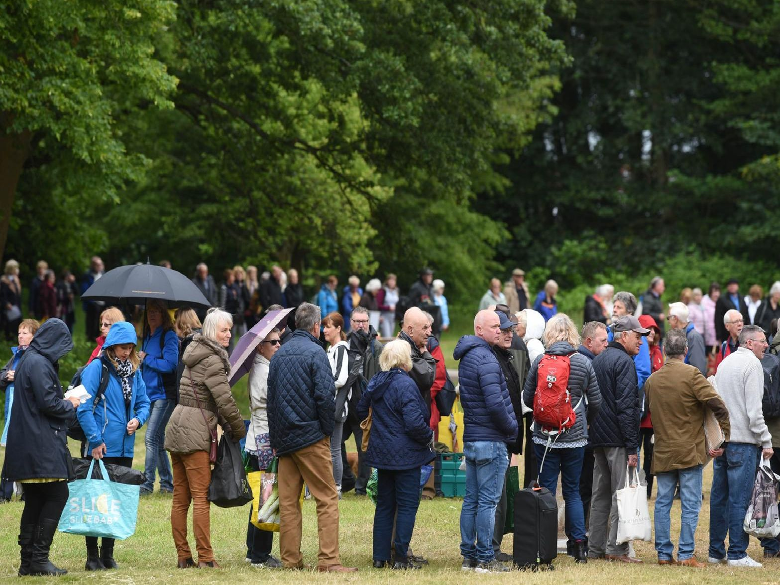 BBC Antiques Roadshow filming at Lytham Hall