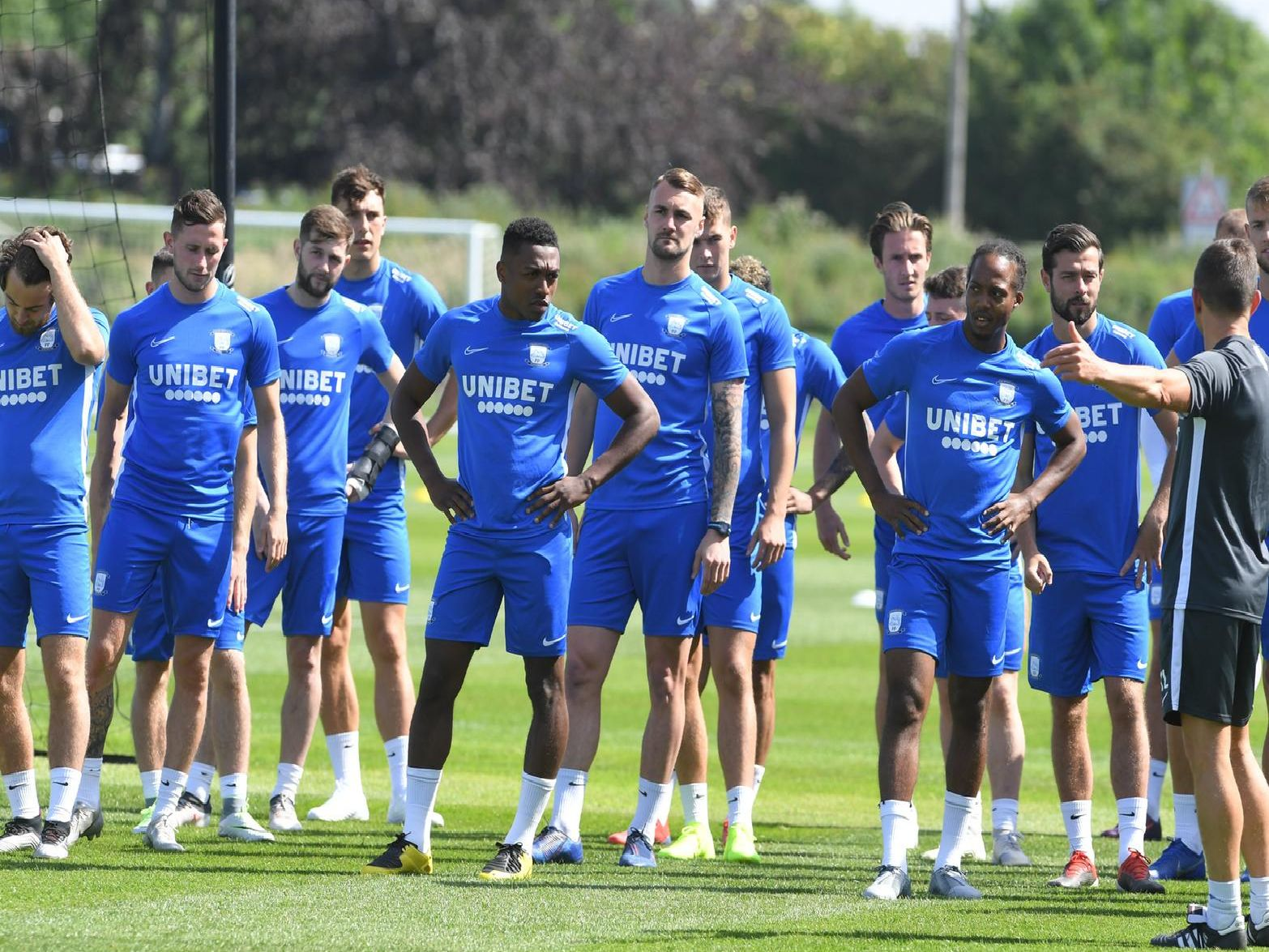The PNE squad are back in pre-season training. Here are a collection of photos from the second day at Springfields.