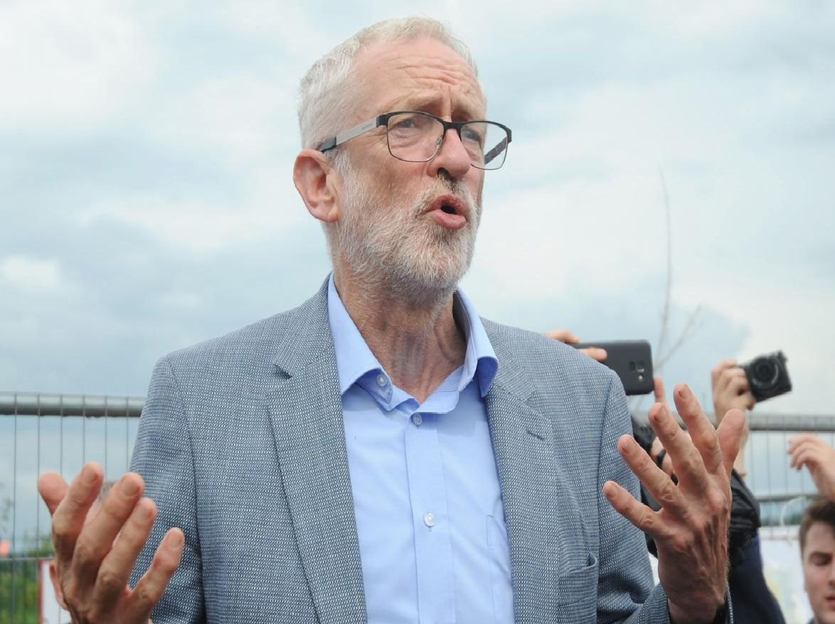 Mr Corbyn said urgent action was needed to tackle the climate change emergency, including an immediate ban on fracking.