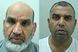 Fazal Ilahi (left), 62, has been given a minimum term of 20 years for murder and 12 years for section 18 wounding. He will serve them concurrently. Syed Akbar (right), 44, has been jailed for 20 years for murder, and 10 years for section 18 wounding.  The sentences run concurrently.