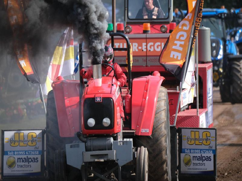 The North West Tractor Pullers Club Tractor Pull at Great Eccleston.