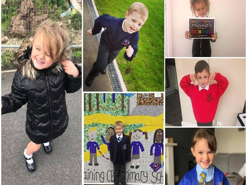 Proud Blackpool, Fylde and Wyre parents share pictures of their child's first day at school