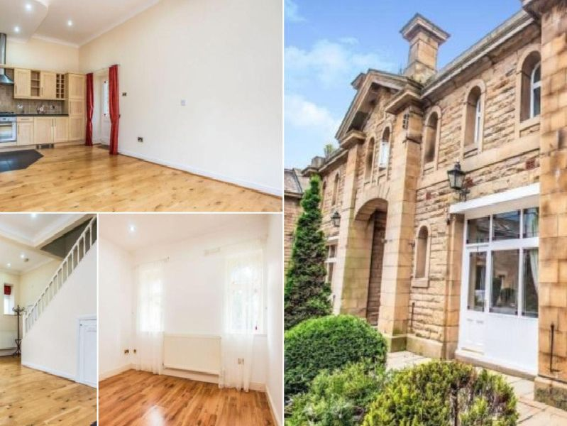 This modern grade II listed home is up for sale in Preston - for 130,000