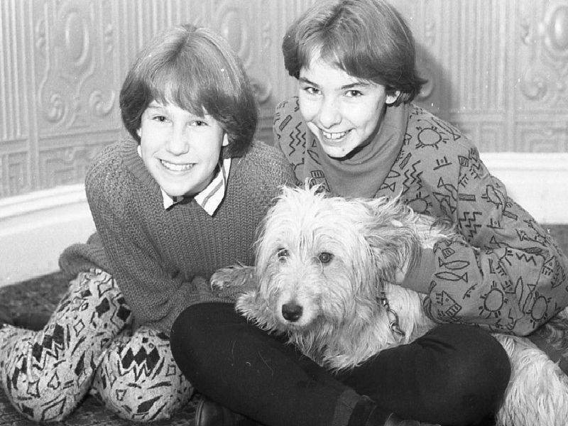 Whoever said he would never work with children or animals obviously never met this charming trio. For Scarlett O'Neal, Sarah Lynch and Sandy the dog are delighting audiences in the latest touring version of Annie, being presented at Blackpool's Grand Theatre