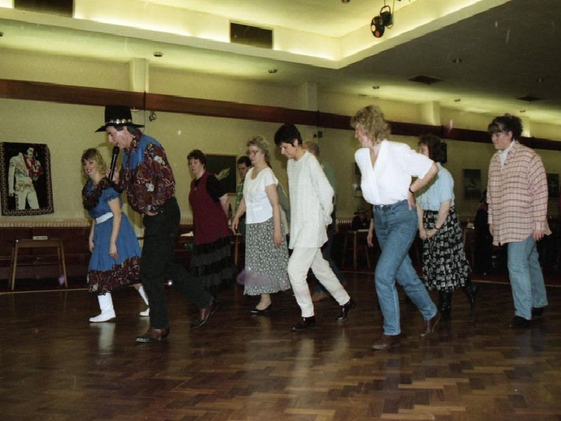 Dancing duo John and Janette Sandham detested Country and Western music - until a two-week stint at a holiday camp convention changed their minds. Now the couple are bringing a taste of the latest American craze - American Line Dancing - to Preston