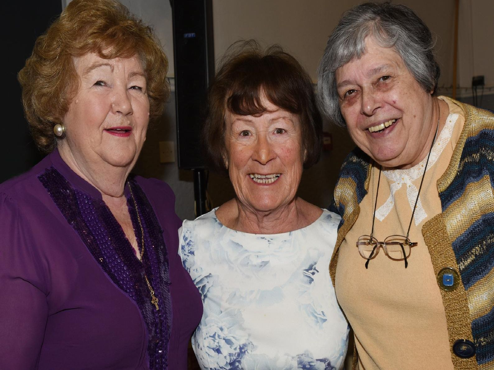 Betty Dearden, Margaret McLoughlin and Janet Newsham