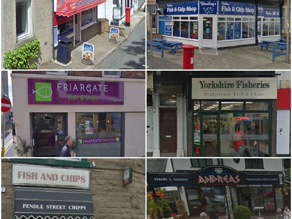 Some of the best Fish and chip shops in Lancashire according to TripAdvisor