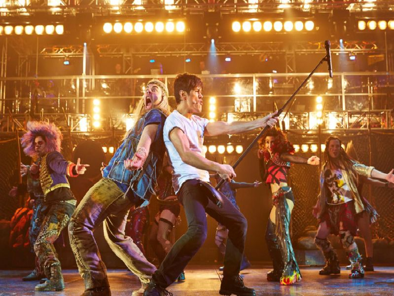 Don't Stop Me Now. A scene from We Will Rock You.