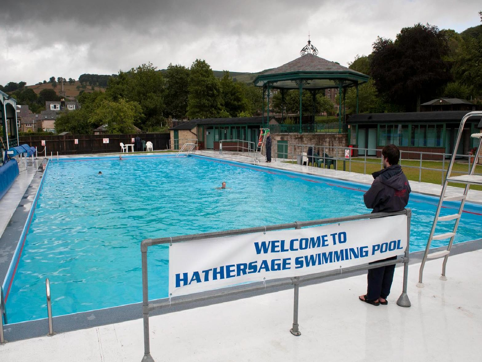 Hathersage Pool opened in 1936