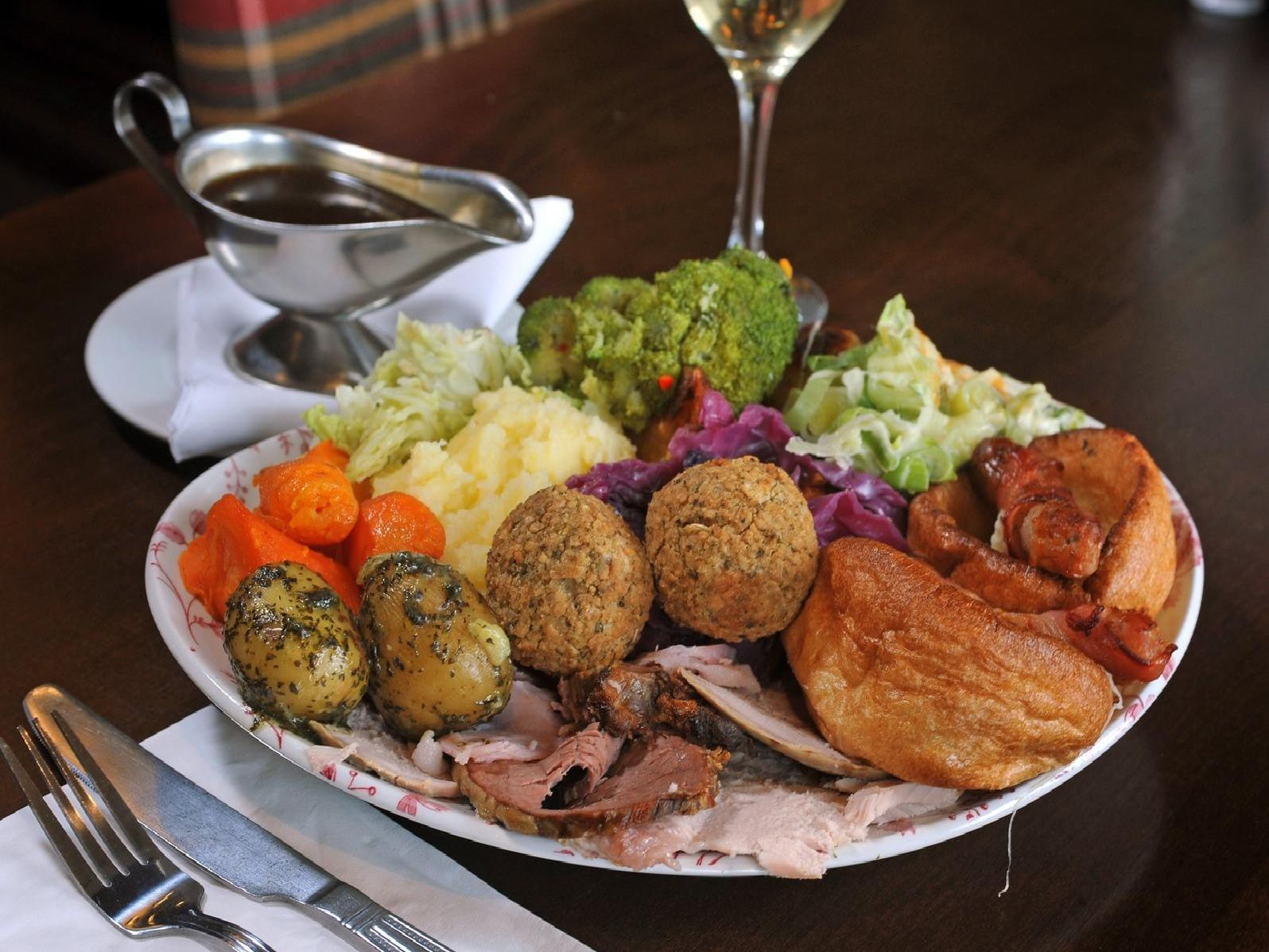 Is there anything more British than a pub lunch carvery?