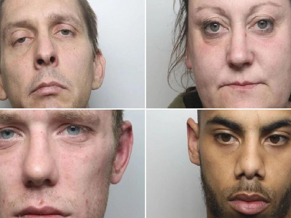 Jailed in Derbyshire in March