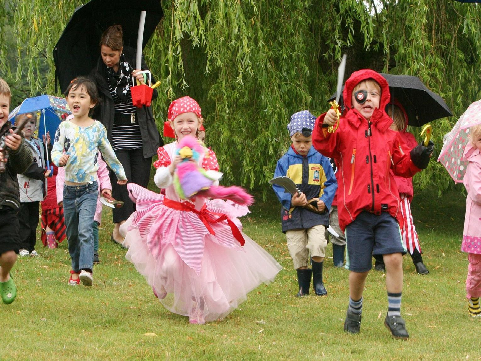 2010: Children dressed as pirates take part in the Big Toddle at Alison House in Cromford to raise money for Barnardos.