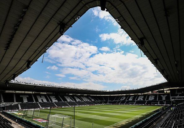 Pride Park'(Photo by Andrew Kearns - CameraSport via Getty Images)