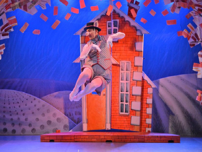 Northern Ballet's production of Three Little Pigs screens to the Pomegranate Theatre, Chesterfield, on May 17 and 18, 2019.