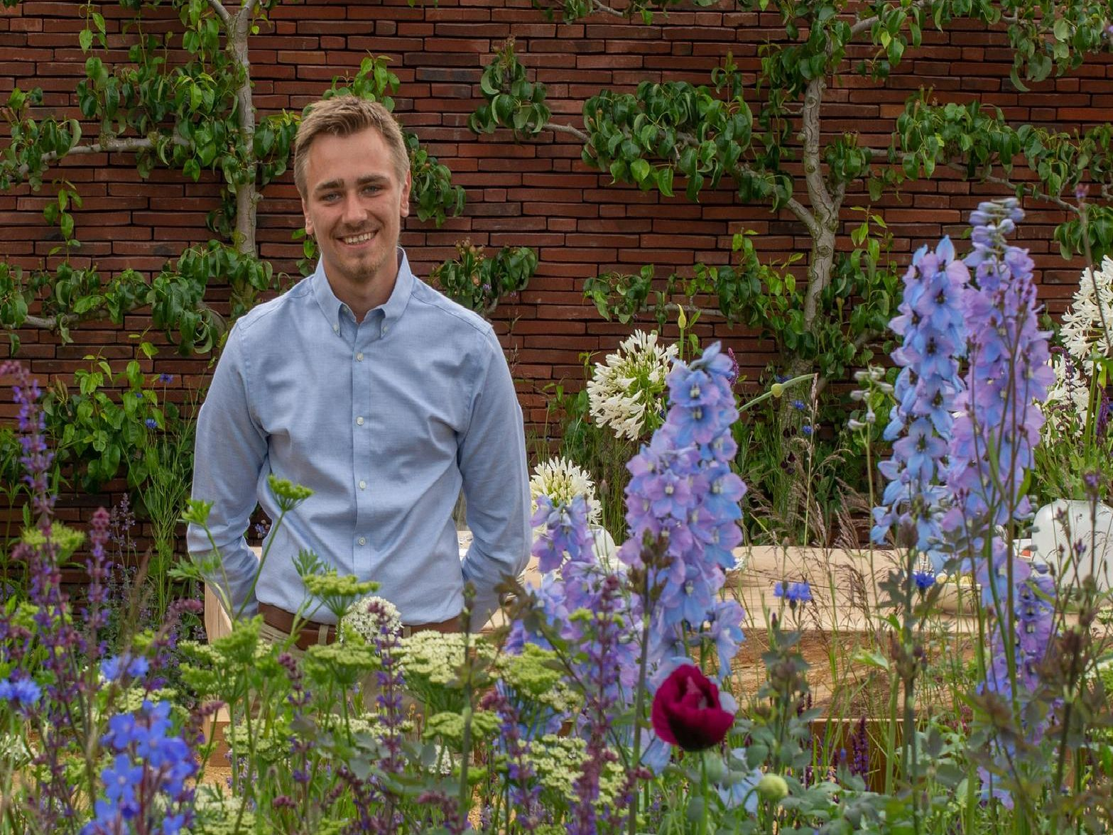 Garden Designer Jamie Butterworth from Butterworth Horticulture