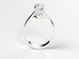 Women inDerbyshiredescribed their perfect engagement ring as having awhite gold band (24.3%), with a round cut (25.9%) sapphire stone (26.6%) in a solitaire setting (34.7%).