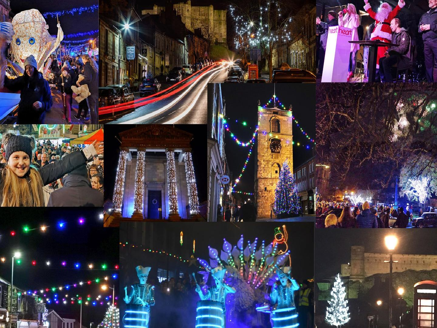 Images from across the county of our fantastic season light displays