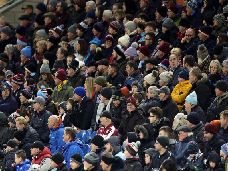 Burnley v Crystal Palace fan pictures. Photo gallery: Rich Linley/CameraSport