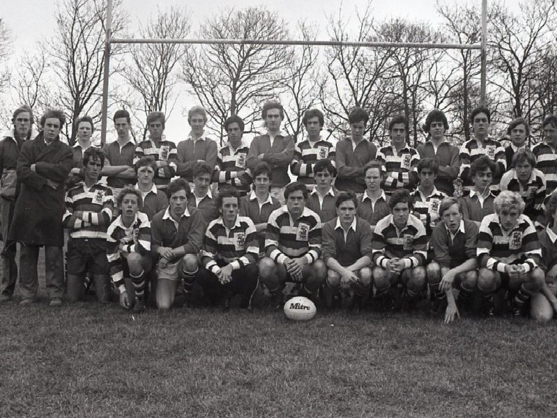 Kirkham Grammar School's first XV rugby team played a team from Buenos Aires and won 24-10