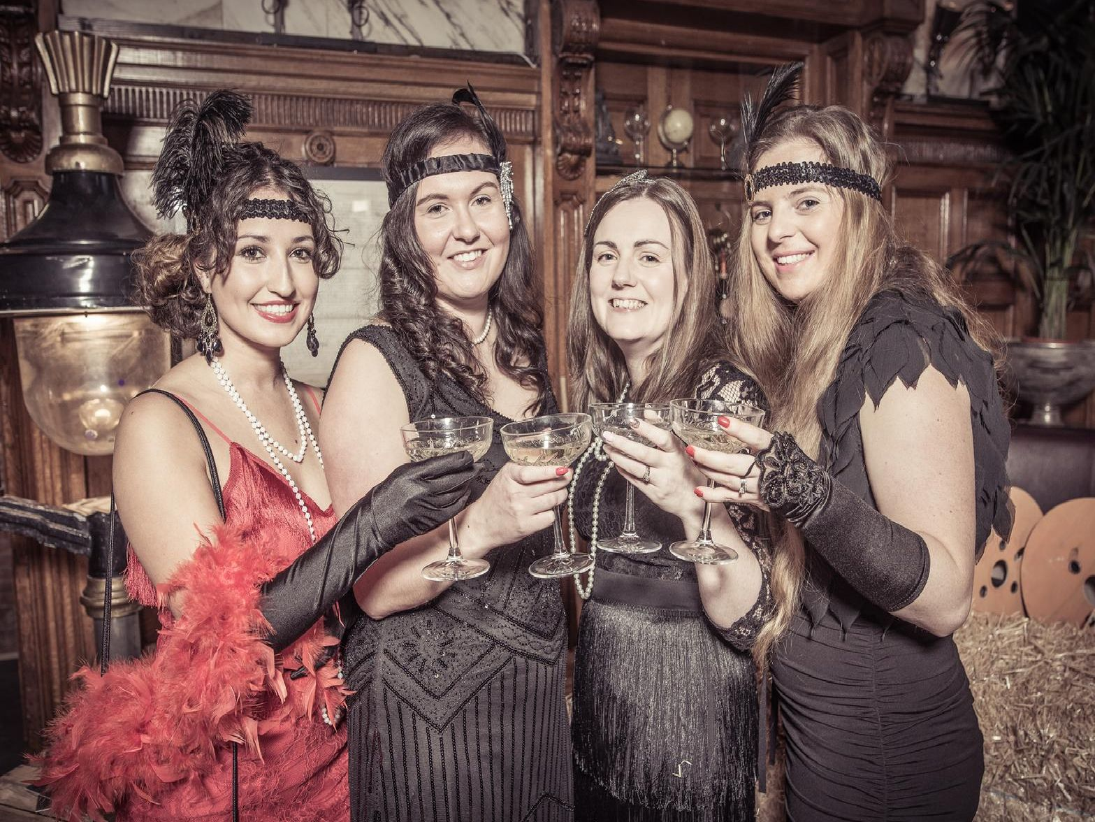 +24 Marketing's Peaky Blinders themed charity event was a roaring success. Photos: Andy Ford.