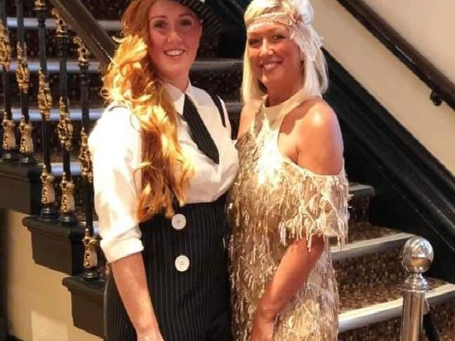 Guests at the Peaky Blinders themed charity night for Prostate Cancer UK
