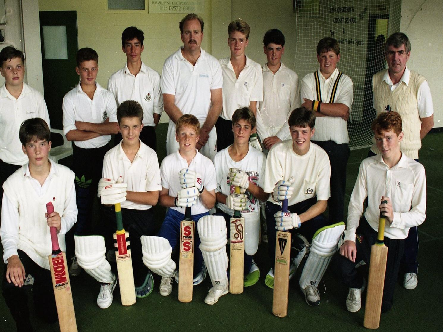 The recent Mark Greatbatch week-long coaching corse has been voted a huge hit. More than 20 youngsters attended the course held at Oyston Mill, Preston. The Kiwi Test star is pictured (back fourth left) with some of the youngsters and coach Keith Winder (back far right)
