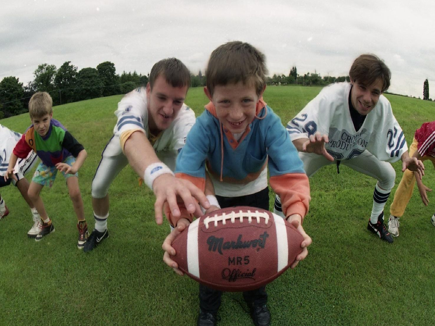 Youngsters taking part in a week of sports at a top Lancashire private school are finding out just how tough you need to be to play American football. The children, aged five to 15, played a variety of sports at Stonyhurst College in the Ribble Valley