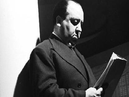 Pictured is Sir Alfred Hitchcock. Photo credit: Getty Images.