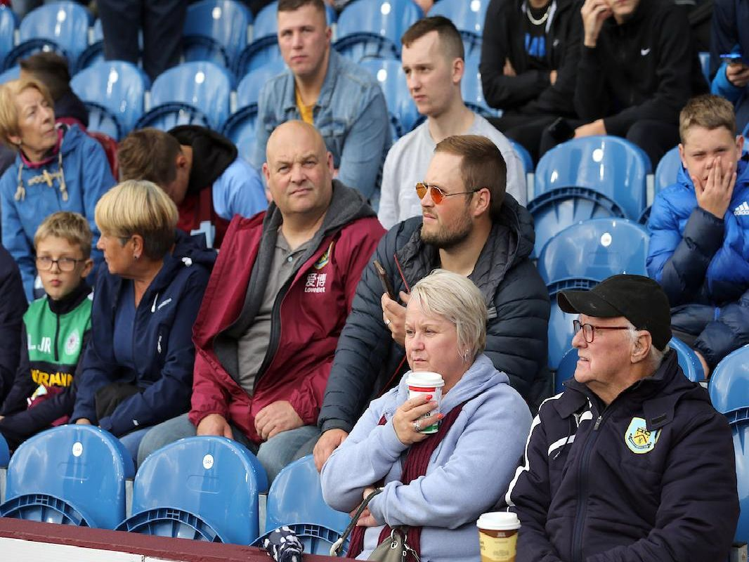 Burnley v Liverpool fan photos. Photo: Rich Linley/CameraSport