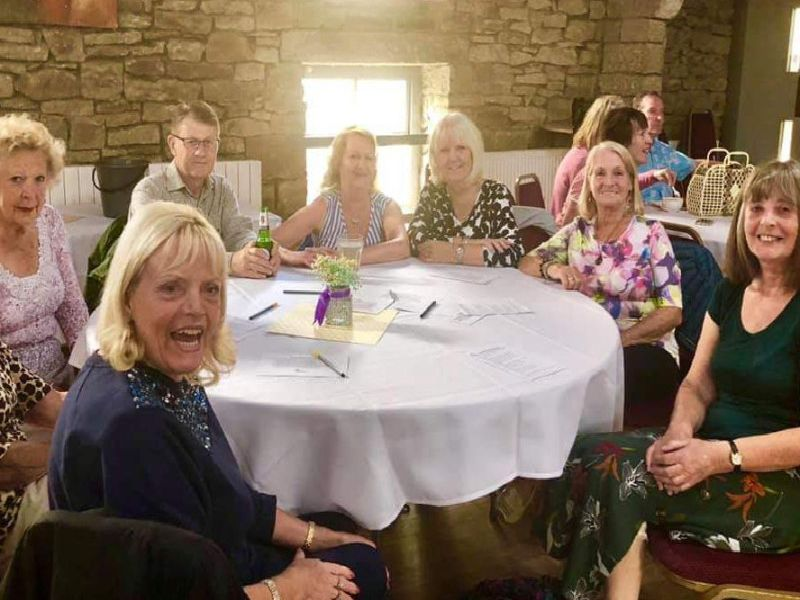 Guests at the first Sunday tea dance held in Burnley's Kestrel Suite