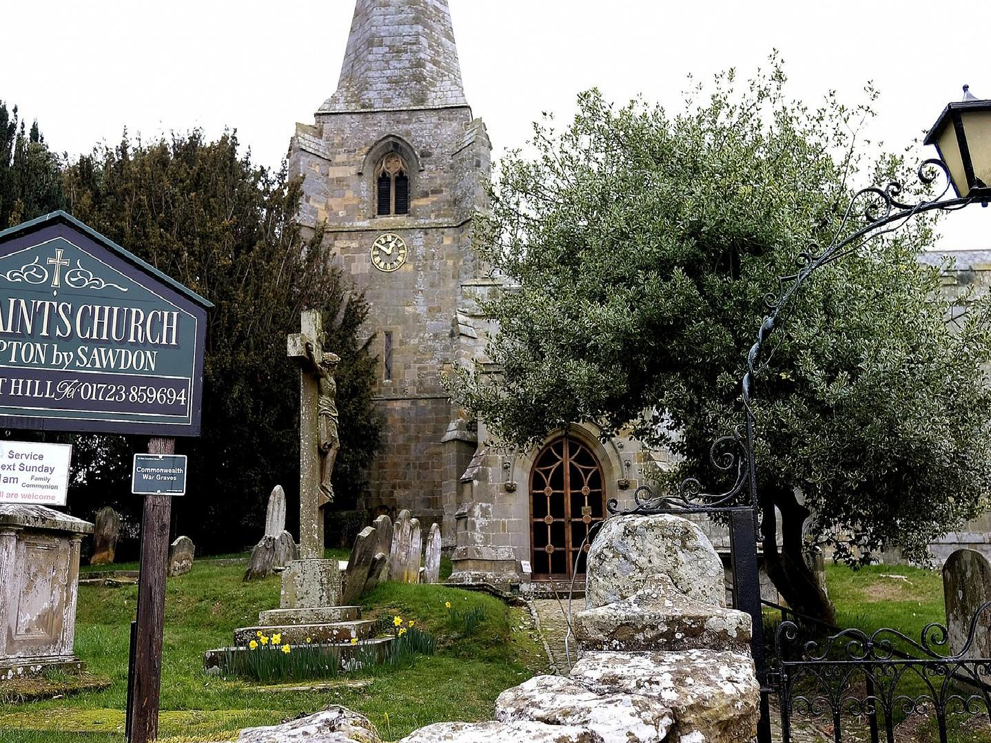 All Saints' Church in Brompton celebrates the life and work of both poet William Wordsworth and inventor and philanthropist George Cayley