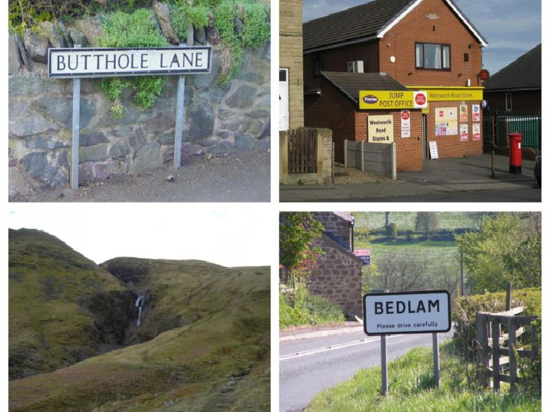 Yorkshire unusual place names