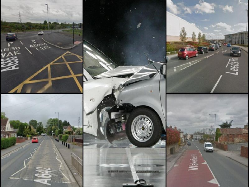 These are the 34 roads in the Wakefield district with the most traffic accidents in 2018, according to the latest figures.