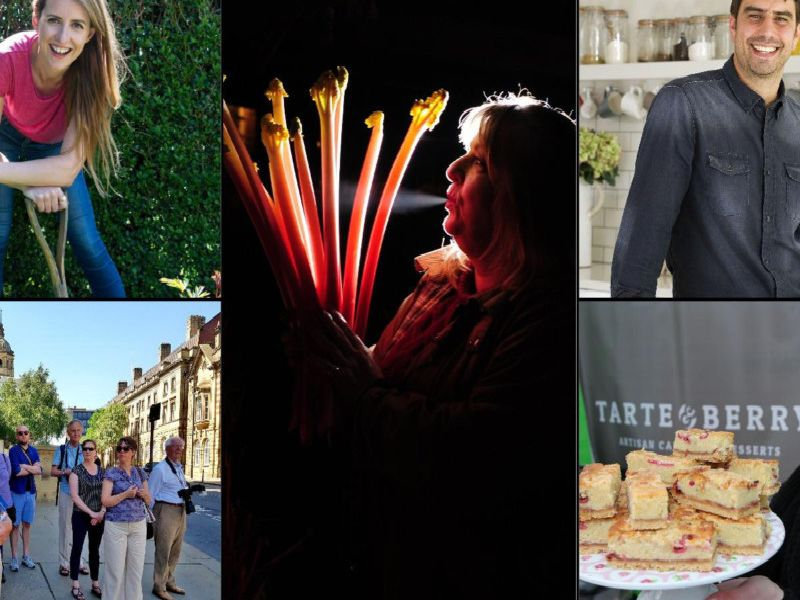 The Wakefield Festival of Food, Drink and Rhubarb is underway, and Sunday promises a brilliant conclusion to the weekend.