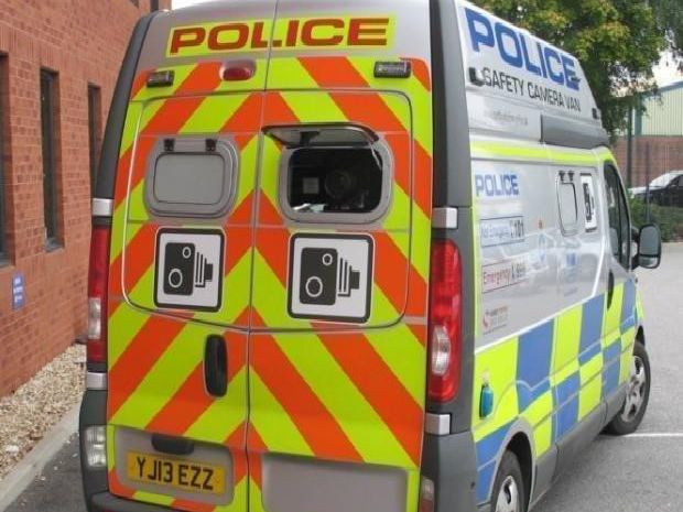 The speed camera van is out and about in Wakefield this week: