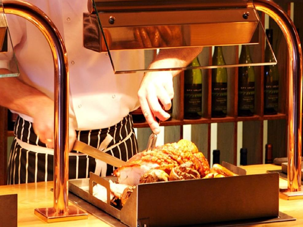 A lovely carvery is what Sundays are all about...