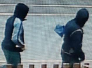 Did  you see these suspects following hammer attack?